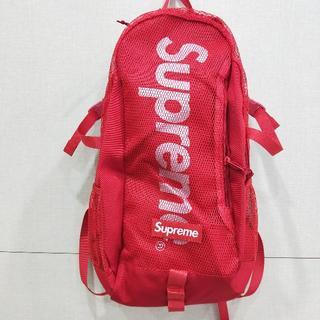 Supreme - 最安值!Supreme 20SS backpack 赤