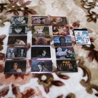 BANDAI - 鬼滅の刃ウエハース2 カード5枚+伊之助メモ1冊