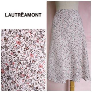 LAUTREAMONT - 【ロートレアモン】上品小花柄スカート☆フレアスカート☆ボタニカル柄