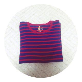ジーユー(GU)の* ボーダー ロンT *(Tシャツ(長袖/七分))