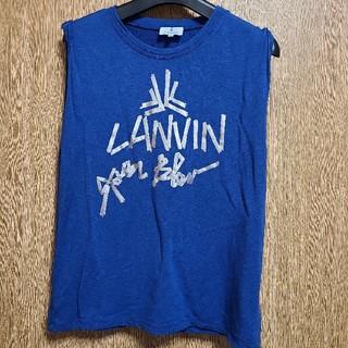 ランバンオンブルー(LANVIN en Bleu)のランバンオンブルー(カットソー(半袖/袖なし))