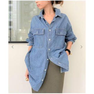 L'Appartement DEUXIEME CLASSE - アパルトモン 今季REMI RELIEF/Chambray シャツ