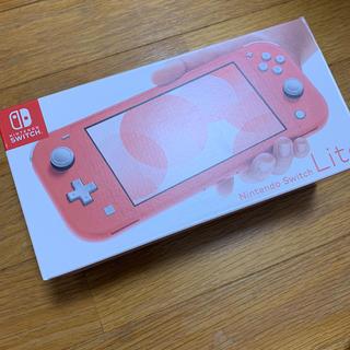 Nintendo Switch - 新品未使用 Switchライト コーラル