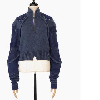 mame - mame blue ニット セーター