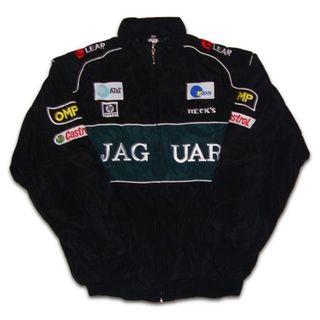 【送料無料】JAGUAR ジャガー ジャケット・ブルゾン 黒・緑 XXLサイズ(ブルゾン)