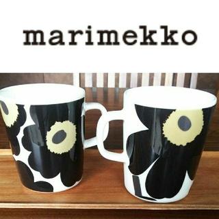 marimekko - マリメッコ ウニッコ マグカップ2個セット