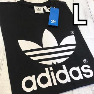 adidas - 在庫残りわずか 新品/adidas ビッグロゴTシャツ/Lサイズ/男女兼用