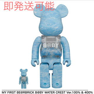 MEDICOM TOY - MY FIRST B@BY WATER CREST 100% & 400%