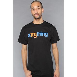 エニシング(aNYthing)の新品 aNYthing Logo Tee//Black S(Tシャツ/カットソー(半袖/袖なし))