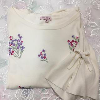 TOCCA - トッカ 刺繍ニット セーター