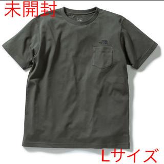 THE NORTH FACE - 【未開封新品】ノースフェイス ポケットTシャツ ワンポイント刺繍 ダークカーキ