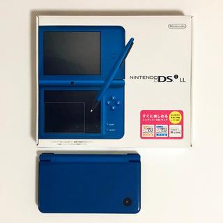 ニンテンドーDS(ニンテンドーDS)のニンテンドーDSi LL(ブルー)本体(美品)(携帯用ゲーム機本体)