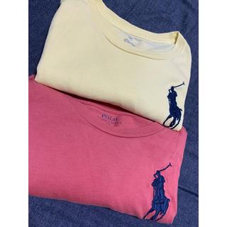POLO RALPH LAUREN - ラルフローレン M   ビッグポニー  ピンク  Tシャツ