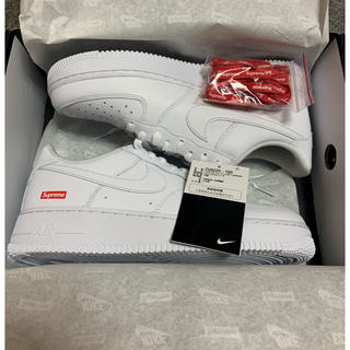 NIKE - supreme nike air force1