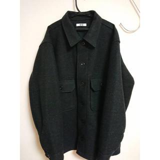 ユニクロ(UNIQLO)のユニクロU フリースシャツジャケット(ブルゾン)
