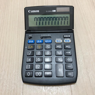 Canon - キャノン 電卓/計算機 TS-122TSG