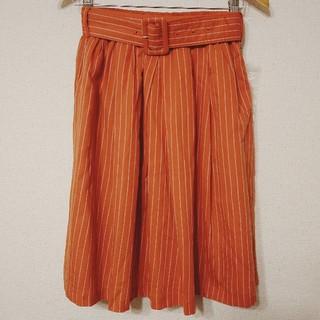 クチュールブローチ(Couture Brooch)のクチュールブローチ★ストライプフレアースカート(ひざ丈スカート)