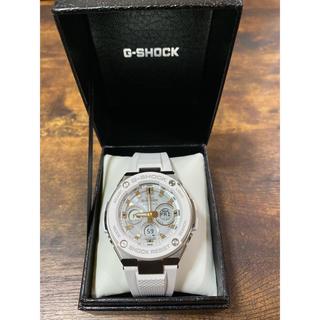 ジーショック(G-SHOCK)のG-SHOCK 電波ソーラー GST-W300-AJF ホワイト(腕時計(デジタル))