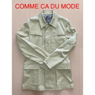 コムサデモード(COMME CA DU MODE)のCOMME CA DU MODE/サファリ調ジャケット(M)/ベージュ(ブルゾン)