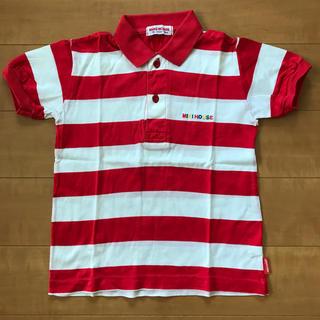 mikihouse - ミキハウス 100  ポロシャツ 赤白ボーダー