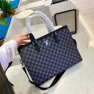 #ルイヴ..ィトンモノグラムビジネスバッグ LV Louis。。Vuitton