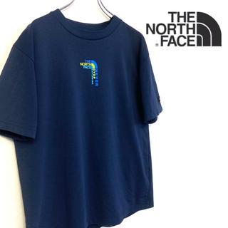 THE NORTH FACE - 美品 THE NORTH FACE ロゴTシャツ メンズM ネイビー