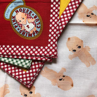 PINK HOUSE - ベビーピンクハウス  キューピーちゃんのハンカチセット 未使用品