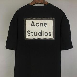 ACNE - Acne studios 黑 ビッグシルエット Tシャツ S 新品