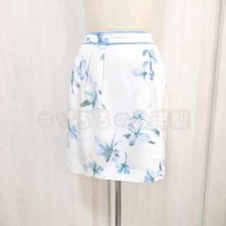リランドチュール(Rirandture)のRirandture 花柄スカート 匿名 送料込み(ひざ丈スカート)