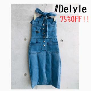 Delyle NOIR - ★新品タグ付き★Delyle noir✳︎サロペット