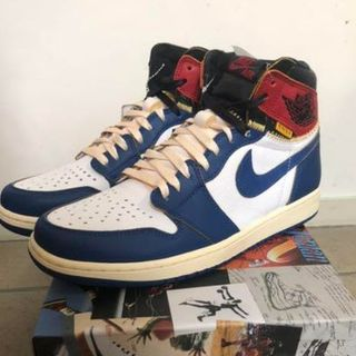 NIKE - 27.5cm NIKE AIR JORDAN 1 × UNION