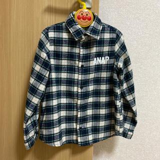 アナップキッズ(ANAP Kids)のANAP チェックシャツ(ブラウス)
