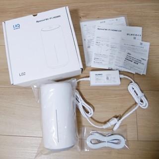 UQ WiMAX SPEED Wi-Fi HOME L02