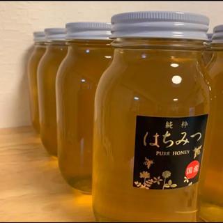 国産 純粋 生はちみつ 1.2kg 蜂蜜 ハチミツ 非加熱 無添加