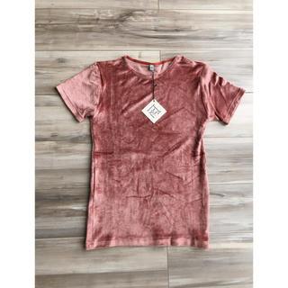 新品タグ付き!baserangeベロアTシャツ☆アローズ、トゥモローランド