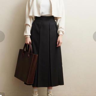 フィグロンドン(fig London)のfiglondon プリーツスカート(ひざ丈スカート)