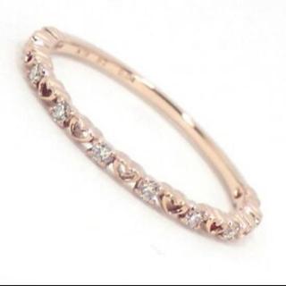 サマンサティアラ(Samantha Tiara)の新品同様 約半額 ダイヤモンド リング Samantha tiara ハート(リング(指輪))