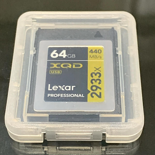 Lexer - LexarのXQDカード 64GB