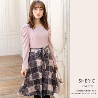 tocco - 週末限定お値下げtocco closet sherio ピンクブラウン×チェック