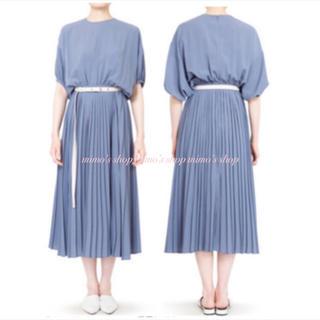 LE CIEL BLEU - 最終お値下げ☆新品未使用☆LE CIEL BLEU☆プリーツドレス