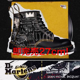 ドクターマーチン(Dr.Martens)の[即完売品!]ドクターマーチン80年限定 バスキアコラボ 靴ひもおまけ付き(ブーツ)