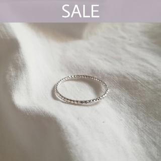 イエナ(IENA)の【 期間限定SALE 】925 cutting ring / 14号(リング(指輪))