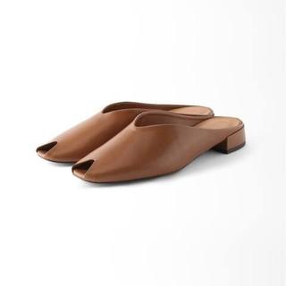 IENA - 2020春夏 IENA SLIPPERS 38 24.5cm ブラウン