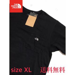 THE NORTH FACE - 【新品】THE NORTH FACE ノースフェイス ポケットTシャツ 黒 XL