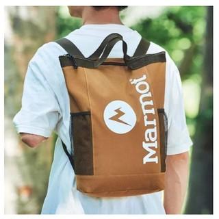 マーモット(MARMOT)の新品未使用  MonoMax 8月号付録「Marmot」の背負える保冷バッグ(トートバッグ)