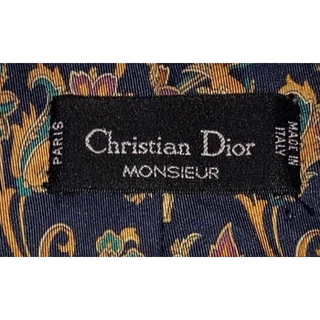 クリスチャンディオール(Christian Dior)の(美品) Christian Dior クリスチャンディオール 総柄ネクタイ(ネクタイ)