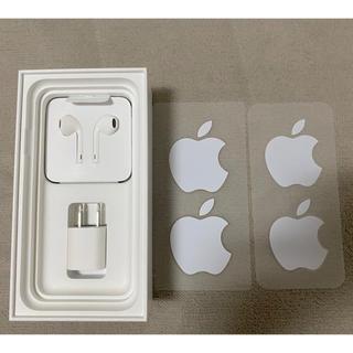 Apple - Apple 純正 ACアダプター イヤホン シール2枚