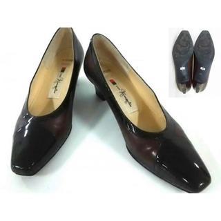 ギンザカネマツ(GINZA Kanematsu)の美品!ギンザカネマツ GINZAKanematsu パンプス 22C 靴(ハイヒール/パンプス)