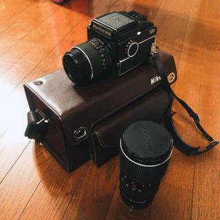 マミヤ(USTMamiya)のMamiya 645-SEKOR C 1:2.8 f=55mm,75-150mm(フィルムカメラ)