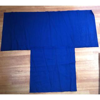 薄手の青い生地です ハギレ(生地/糸)